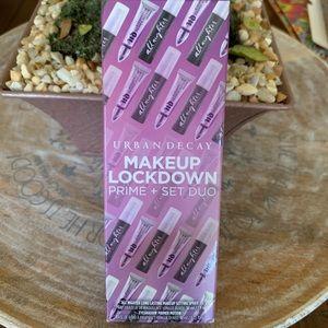 Urban Decay Makeup Lockdown Prime Set Duo NEW